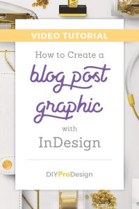 How to Create a Blog Post Graphic with InDesign