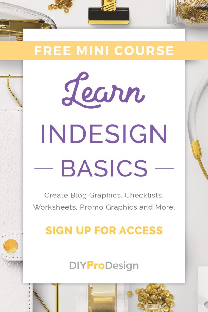 Learn InDesign Basics with this Free Mini Course