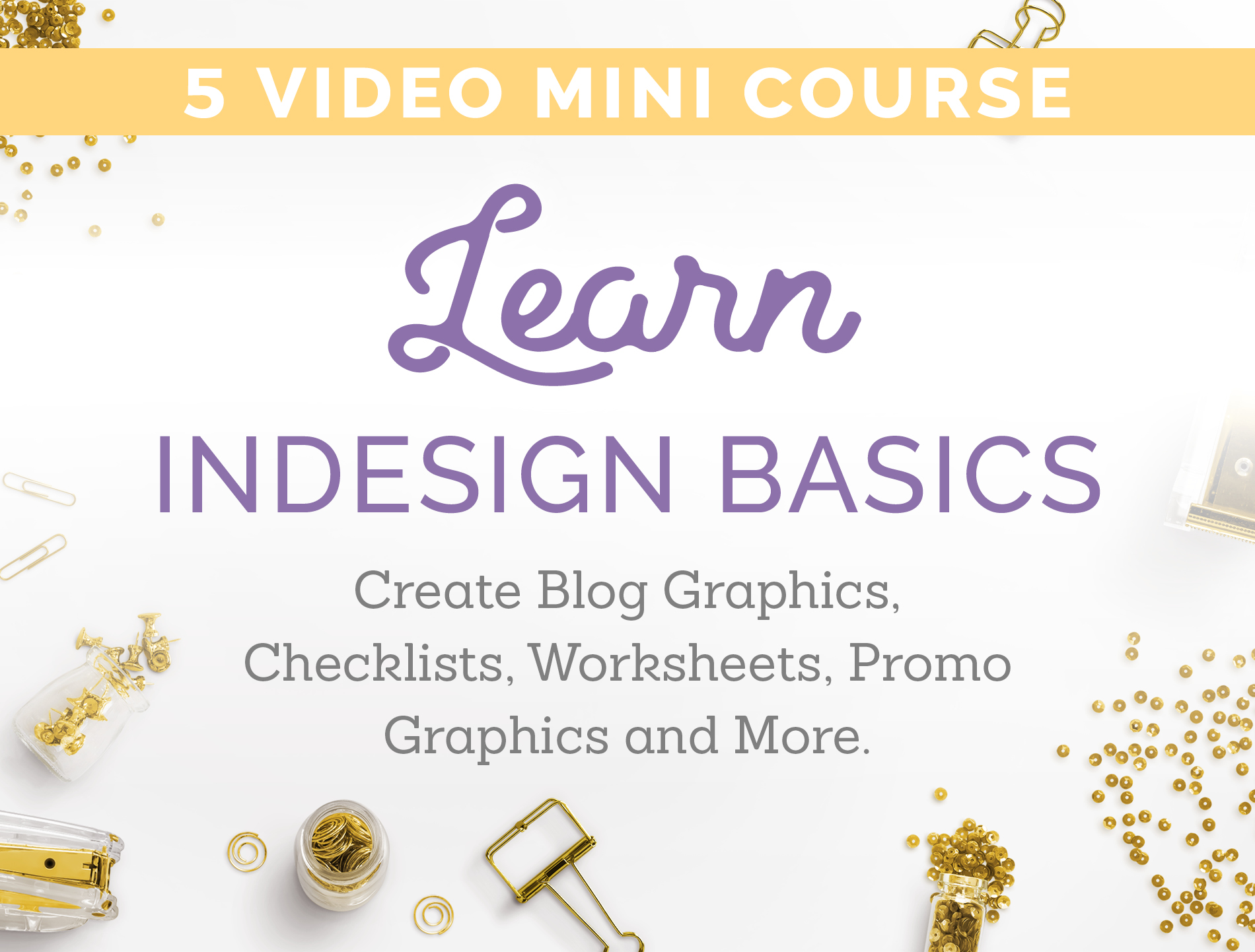 learn indesign basics
